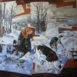 Vegán vadászok hóban